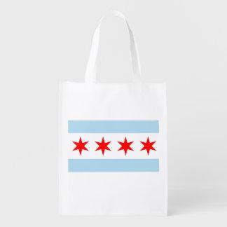 シカゴの旗 エコバッグ