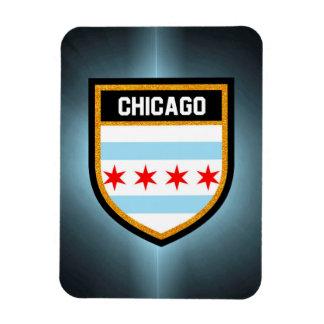 シカゴの旗 マグネット