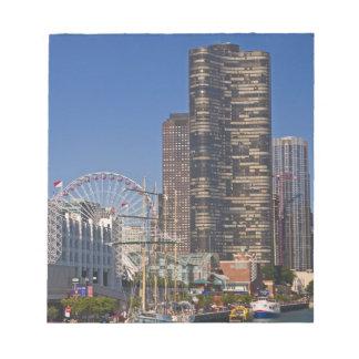 シカゴの海軍桟橋の眺め ノートパッド