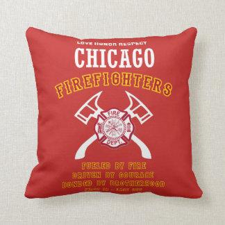 シカゴの消防士のクッション クッション