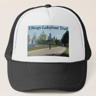 シカゴの湖畔の道の帽子 キャップ