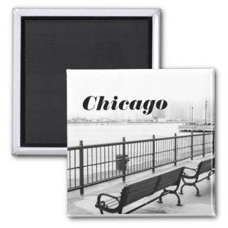 シカゴの白黒磁石 マグネット