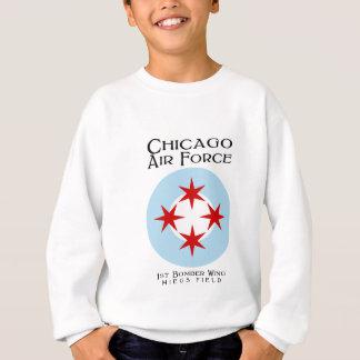 シカゴの空軍-第1爆撃機の翼 スウェットシャツ