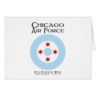 シカゴの空軍-第9戦闘機の翼 カード