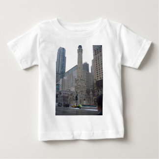 シカゴの給水塔 ベビーTシャツ