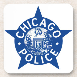 シカゴの警察のヴィンテージの星 コースター