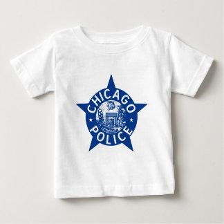 シカゴの警察のヴィンテージの星 ベビーTシャツ