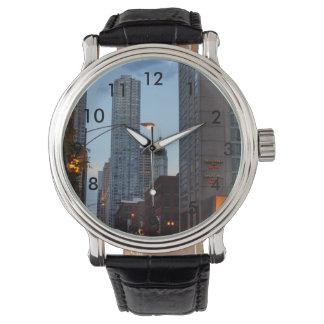 シカゴの通り場面 腕時計