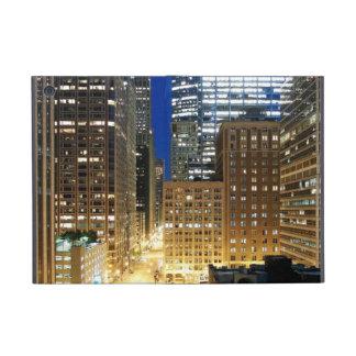 シカゴの都市景観の夜眺め iPad MINI ケース