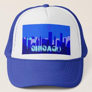 シカゴの都市景観の帽子 キャップ