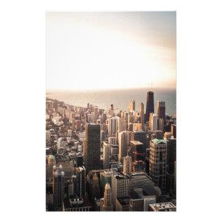 シカゴの都市景観 便箋
