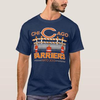 シカゴの障壁(青い) NATO 2012年 Tシャツ