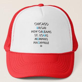 シカゴの青 キャップ