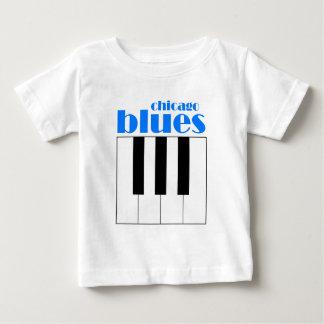 シカゴの青 ベビーTシャツ