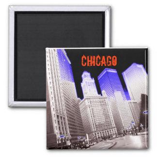 シカゴの青 マグネット