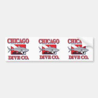 シカゴの飛び込みの会社 バンパーステッカー