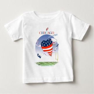 シカゴの騒々しく、誇りを持った、贅沢なfernandes ベビーTシャツ