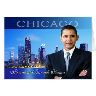 シカゴオバマ カード