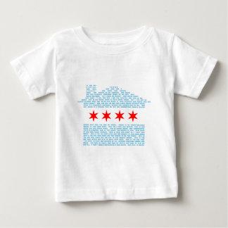 シカゴジャックの旗 ベビーTシャツ