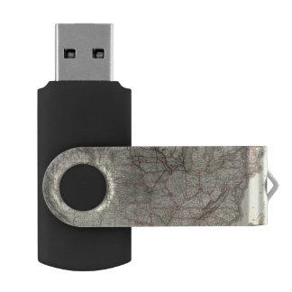 シカゴミルウォーキーおよびセントポールRyおよびつながり USBフラッシュドライブ