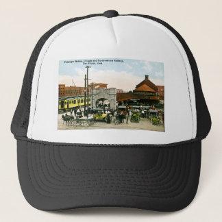 シカゴ及び北西鉄道、デモイン、アイオワ キャップ