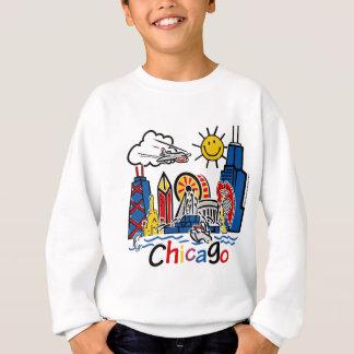 シカゴ子供[変えられる] スウェットシャツ