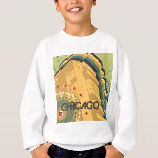 シカゴ旅行デザイン スウェットシャツ