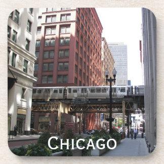シカゴ旅行写真 コースター