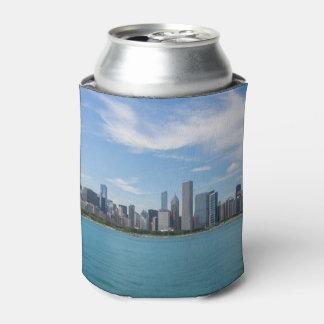 シカゴ日の都市景観 缶クーラー