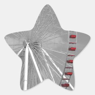 シカゴ海軍桟橋の観覧車 星シール