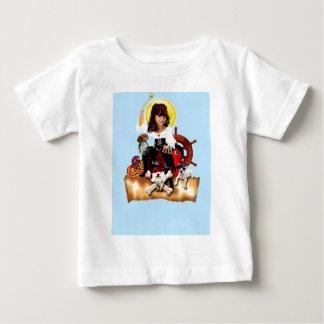 シカゴ犬の訓練 ベビーTシャツ