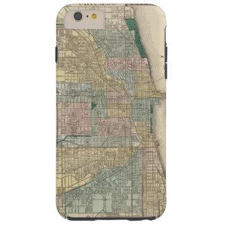 シカゴ都市の地図 TOUGH iPhone 6 PLUS ケース