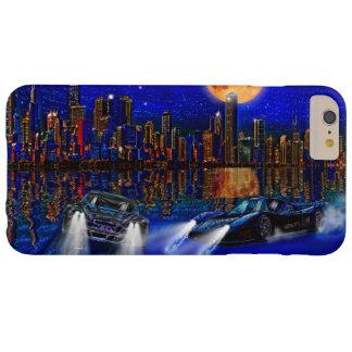 シカゴ都市スカイラインおよび通り競争車 BARELY THERE iPhone 6 PLUS ケース