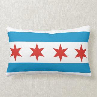 シカゴ都市旗の米国アメリカの枕 ランバークッション