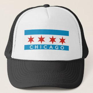 シカゴ都市旗米国の文字の名前アメリカ キャップ