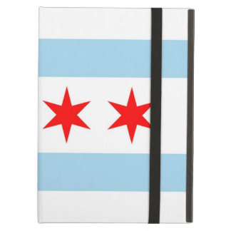 シカゴ都市旗、米国とのPowis Ipadの場合 iPad Airケース