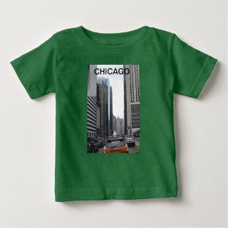 シカゴ都市 ベビーTシャツ