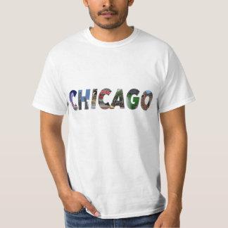 シカゴ都市 Tシャツ
