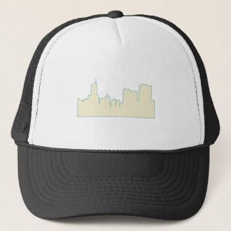 シカゴ都市Scape キャップ
