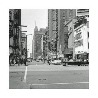 シカゴ5月7日1967年ランドルフSt.オリエンタルの劇場 キャンバスプリント