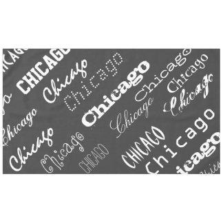 シカゴ(または他のどの都市も) テーブルクロス