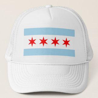 シカゴ、イリノイ州米国の旗が付いている帽子 キャップ