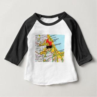 シカゴ、イリノイ ベビーTシャツ