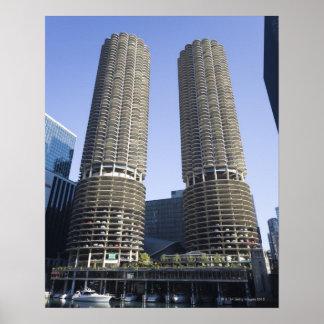 シカゴ、イリノイ、米国 ポスター