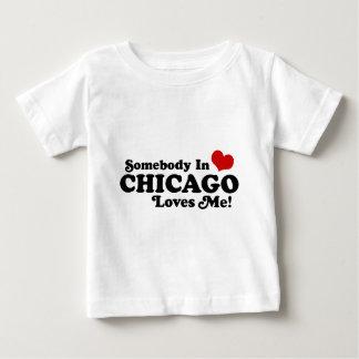 シカゴ ベビーTシャツ