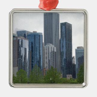 シカゴ メタルオーナメント