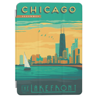 シカゴ、IL -湖畔を楽しんで下さい iPad AIR カバー