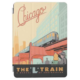 シカゴ、IL - 「L」列車 iPad AIR カバー