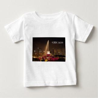 シカゴBuckinghamの噴水(St.K) ベビーTシャツ