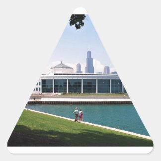 シカゴSheddのアクアリウムのコレクション 三角形シール